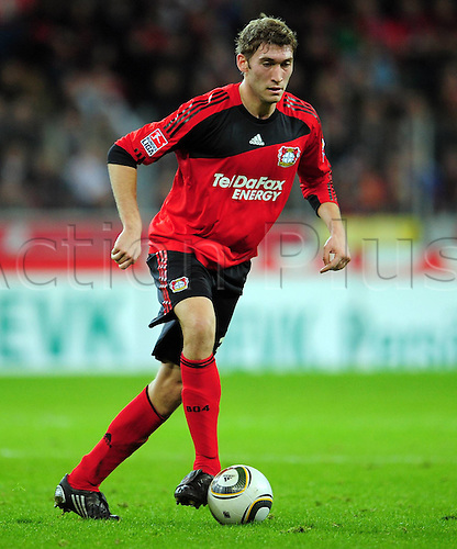 Bundesliga Season Bayer Leverkusen v FC Cologne Stefan Reinartz Bayer Leverkusen. Photo: Imago/Actionplus. Editorial Use UK.