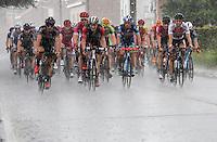 rain storm<br /> <br /> 1st Dwars door het Hageland 2016<br /> (pics by L&eacute;on Van Bon)