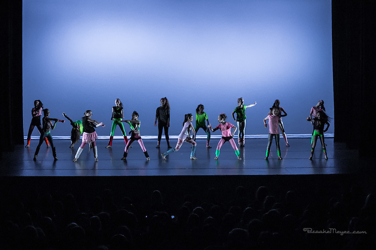 """""""United We Dance"""", the combined production of 3D Project Jazz and Cary Ballet companies Spring Concert. Saturday, 6:30 PM, Cary Arts Center, 15 March 2014"""