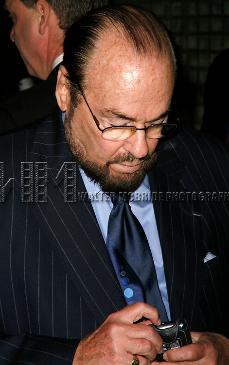 James Lipton arriving for the Opening Night Performance of EQUUS at the Broadhurst Theatre in New York City.<br />