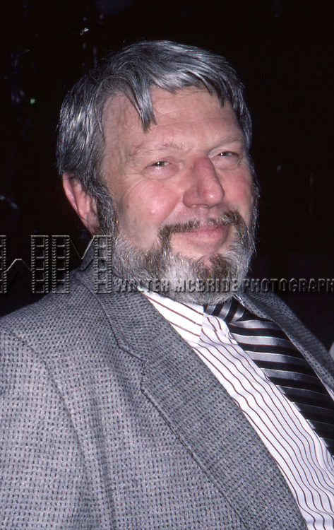 Theodore Bikel attends the Tony Awards at Radio City Music Hall on May 4, 1985 in New York City.
