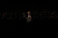 NEW YORK - FEB 6: Fashion week at Bryant Park. Anna Sui, Philip Lim, and Temperly  shows.(Photo by Landon Nordeman)