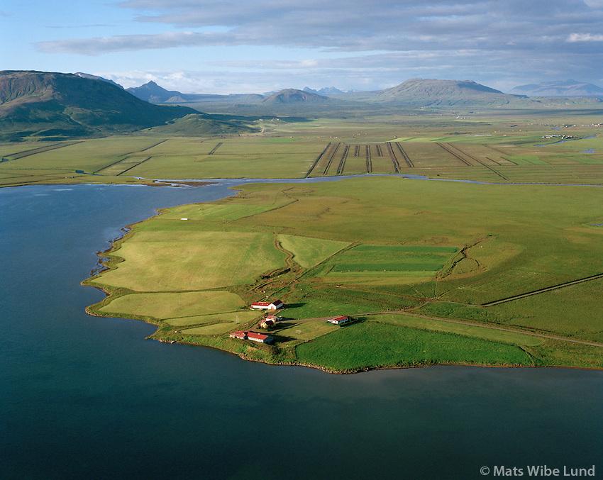 Hagi séð til norðausturs, Apavatn, Grímsnes- og Grafningshreppur /  Hagi viewing northeast, lake Apavatn, Grimsnes- og Grafningshreppur.