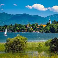 Deutschland, Bayern, Seeshaupt am Starnberger See | Germany, Bavaria, Seeshaupt at Lake Starnberg