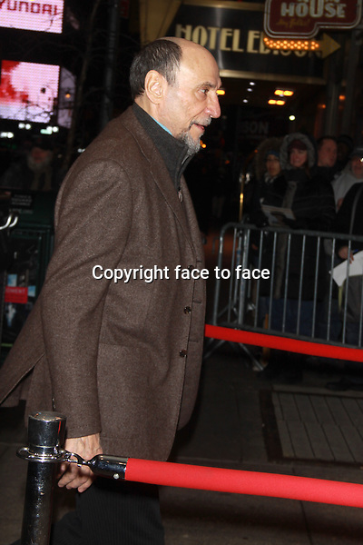 NEW YORK, NY - JANUARY 06: F. Murray Abraham at the 2013 New York Film Critics Circle Awards Ceremony at The Edison Ballroom on January 6, 2014 in New York City. Credit: RW/MediaPunch Inc.<br /> Credit: MediaPunch/face to face<br /> - Germany, Austria, Switzerland, Eastern Europe, Australia, UK, USA, Taiwan, Singapore, China, Malaysia, Thailand, Sweden, Estonia, Latvia and Lithuania rights only -