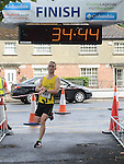Daragh Greene was second in the Turfman 10K run in Ardee. Photo:Colin Bell/pressphotos.ie