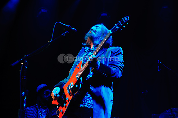 Tom Petty and The Heartbreakers performing live at The Fabulous Forum in Los Angeles, CA on October 11, 20014.  Photo © Kevin Estrada / Media Punch.
