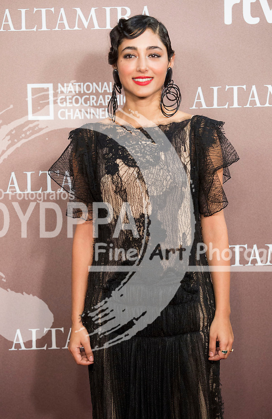 Iranian actress Golshifteh Farahani