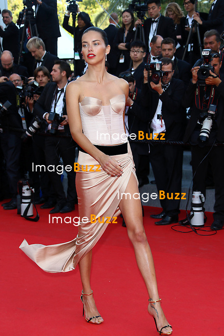 Adriana Lima attends 'The Homesman' premiere during the 67th Annual Cannes Film Festival. <br /> France, Cannes, May 18, 2014.