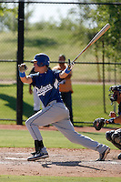 Jerry Sands - Los Angeles Dodgers 2009 Instructional League. .Photo by:  Bill Mitchell/Four Seam Images..