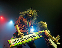 Dragonforce performing at The Forum, Melbourne, 25 October 2008