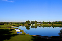 A general view of the 10th green during the second round of the Lyoness Open powered by Organic+ played at Diamond Country Club, Atzenbrugg, Austria. 8-11 June 2017.<br /> 09/06/2017.<br /> Picture: Golffile | Phil Inglis<br /> <br /> <br /> All photo usage must carry mandatory copyright credit (&copy; Golffile | Phil Inglis)