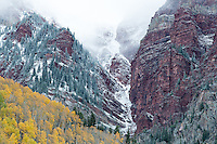 Incoming weather near Maroon Bells