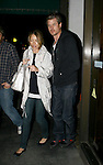 AbilityFilms@yahoo.com 805-427-3519  www.AbilityFilms.com  Exclusive.4-6-08 Eric Dane leaving Madeos restaurant with his wife Rebecca Gayheart in Beverly hills