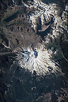 Aerial of Mt. St. Helens, Washington