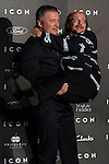 Alec Baldwin and Santiago Segura at ICON awards in the Italian Consulate in Madrid. <br /> 01/10/2014.