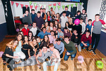 Double Celebration : Eamon Shanahan & Jeaic McKenna, Kilflynn celebrating their 18th birthday with family & friends at Herbert's Bar, Kilflynn on Saturady night last.
