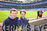 John and Mary Brennan Tralee Supporting Kerry at Croke park on Sunday.
