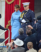 Malaria Trump arrives for the swearing-in ceremony as Donald J. Trump is sworn-in as the 45th President of the United States on the West Front of the US Capitol on Friday, January 20, 2017.<br /> Credit: Ron Sachs / CNP<br /> (RESTRICTION: NO New York or New Jersey Newspapers or newspapers within a 75 mile radius of New York City)