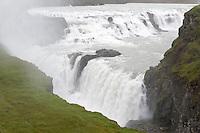 Gullfoss, teil des Goldenen Ringes, Fluss Hvita, Haukadalur, Suedwest Island, Part of golden circle, Gullni hringurinn, Southwest Iceland