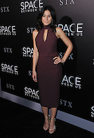 "17 January 2017 - Hollywood, California - Emmanuelle Chriqui. 2017 ""The Space Between Us"" special Los Angeles screening held at Arclight Hollywood. Photo Credit: Birdie Thompson/AdMedia"