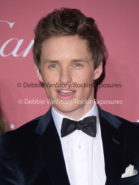 Eddie Redmayne attends The The 26th Annual Palm Springs International Film Festival in Palm Springs, California on January 03,2015                                                                               © 2014 Hollywood Press Agency