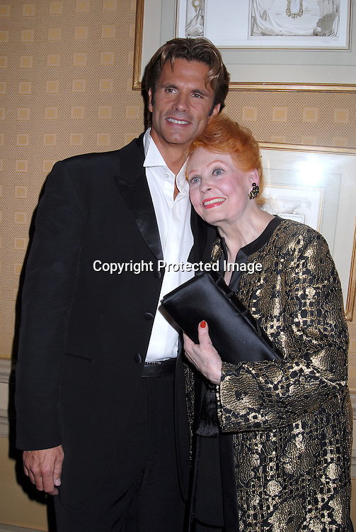 Lorenzo Lamas, mom Arlene Dahl  ..at Lorenzo Lamas's after party after his New York Nightclub debut at Feinsteins at The Regency on October 31, 2006. He will be appearing until November 11, 2006. ..Robin Platzer, Twin Images