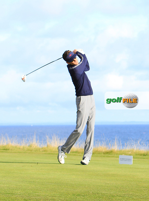 Billy Getty during Round 1of the Alfred Dunhill Links Championship at Kingsbarns Golf Club on Thursday 26th September 2013.<br /> Picture:  Thos Caffrey / www.golffile.ie