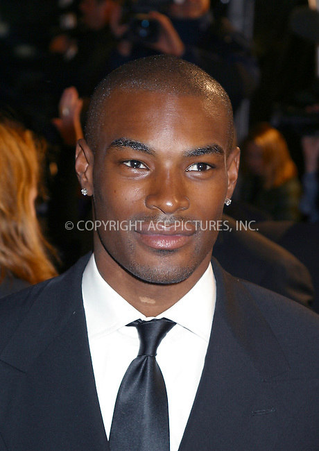 "Model Tyson Beckford arriving at ""GQ Men of the Year Awards"" in New York. October 16, 2002. Please byline: Alecsey Boldeskul/NY Photo Press.   ..*PAY-PER-USE*      ....NY Photo Press:  ..phone (646) 267-6913;   ..e-mail: info@nyphotopress.com"