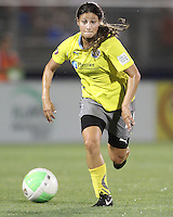 Cristina DiMartino of the Philadelphia Independence during a WPS match against the Washington Freedom on August 4 2010 at the Maryland Soccerplex, in Boyds, Maryland. Freedom won 2-0.
