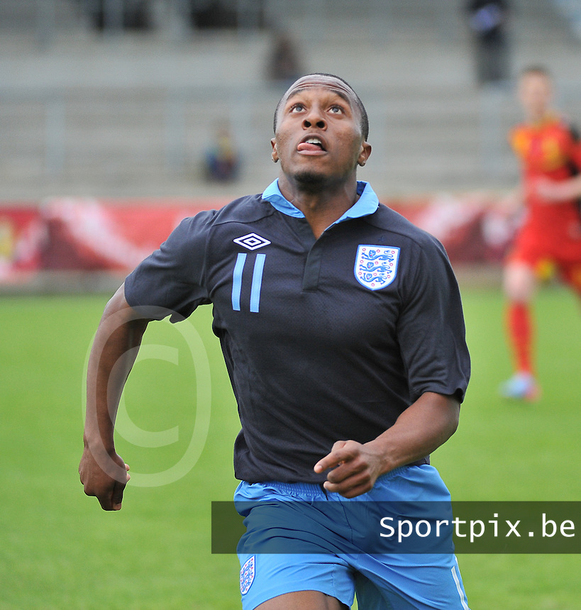 Belgium U19 - England U19 : Callum Harriott (11) .foto DAVID CATRY / Nikonpro.be