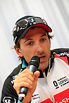 Winner Fabian Cancellara (SUI) Radioshack Leopard Trek gives a press conference at the end of the 56th edition of the E3 Harelbeke, Belgium, 22nd  March 2013 (Photo by Eoin Clarke 2013)