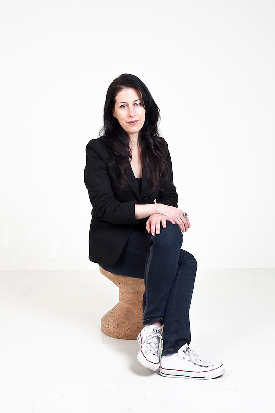 """Ariel Leve, photographed in the studio in London. Ariel Leve is a columnist for the Observer, Guardian and the Times. She is the author of """"The Cassandra Chronicles"""" based on her columns and In April 2010, Harper Perennial will publish in the US and Canada: """"It Could Be Worse, You Could Be Me"""". Ariel Leve won Feature Writer of the Year 2008 at the Magazine Design and Journalism Awards."""