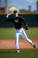 Andrew Patrick during the Under Armour All-America Tournament powered by Baseball Factory on January 18, 2020 at Sloan Park in Mesa, Arizona.  (Zachary Lucy/Four Seam Images)