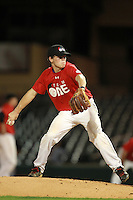 Pitcher Myles Gentry (13) of Gulfport High School participates in the Team One Futures Game East at Roger Dean Stadium in Jupiter, Florida September 25, 2010..  Photo By Mike Janes/Four Seam Images