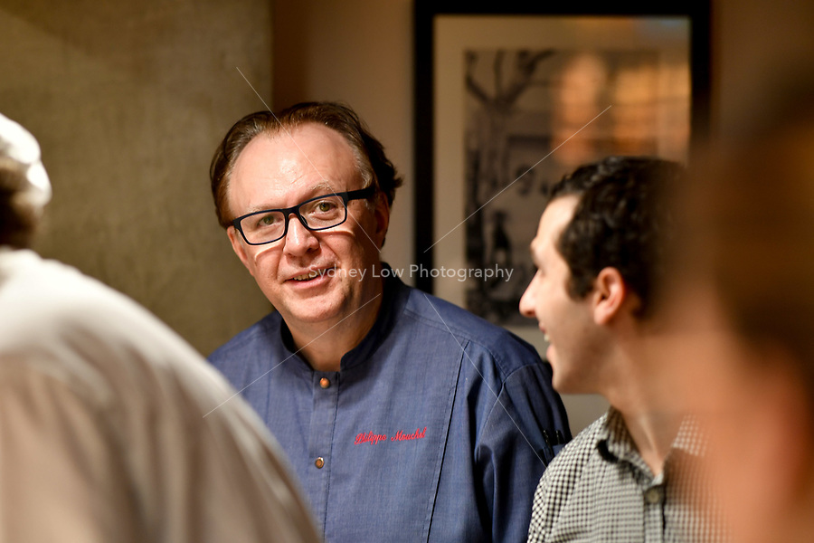 MELBOURNE, 30 June 2017 – Philippe Mouchel during a dinner celebrating his 25 years in Australia with six chefs who worked with him in the past at Philippe Restaurant in Melbourne, Australia.