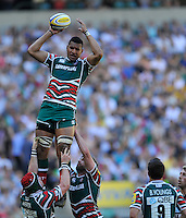 Aviva Premiership Final .Twickenham, England. Steve Mafi of Leicester Tigers during the AVIVA Premiership Final between Harlequins and Leicester Tigers at Twickenham Stadium on May 26, 2012 in London, United Kingdom.