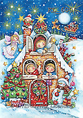 Interlitho, CHRISTMAS CHILDREN, paintings+++++,children,cottage,gifts,KL6006,#xk# Theresa