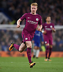 Kevin De Bruyne of Manchester City during the premier league match at the Stamford Bridge stadium, London. Picture date 30th September 2017. Picture credit should read: Robin Parker/Sportimage