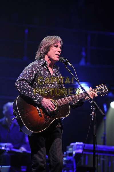 LONDON, ENGLAND - NOVEMBER 24: Jackson Browne performing at the Royal Albert Hall on November 24, 2014 in London, England.<br /> CAP/MAR<br /> &copy; Martin Harris/Capital Pictures