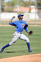 Junior Lake, Chicago Cubs minor league spring training..Photo by:  Bill Mitchell/Four Seam Images.