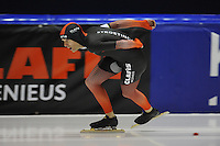 SCHAATSEN: HEERENVEEN; 11-10-2014, IJstadion Thialf, KNSB Trainingswedstrijd, ©foto Martin de Jong