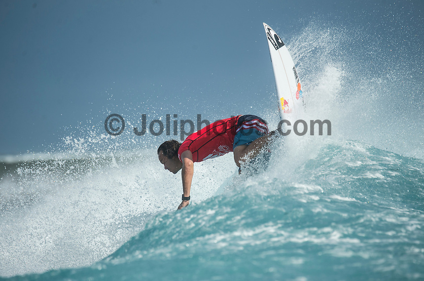 Namotu Island Resort, Namotu, Fiji. (Tuesday June 3 2014) Jordy Smith (ZAF)  – The 2014 Fiji Pro was called on this morning with the swell running in the 3' plus range. The start was delayed till 10.30 am because of the 9.30 am high tide and then they ran the whole of Round 1. Photo: joliphotos.com, 2014) – The 2014 Fiji Pro was called on this morning with the swell running in the 3' plus range. The start was delayed till 10.30 am because of the 9.30 am high tide and then they ran the whole of Round 1. Photo: joliphotos.com June 2, 2014) – The 2014 Fiji Pro was called on this morning with the swell running in the 3' plus range. The start was delayed till 10.30 am because of the 9.30 am high tide and then they ran the whole of Round 1. Photo: joliphotos.com