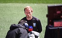 28th June 2020; Ashton Gate Stadium, Bristol, England; English Football League Championship Football, Bristol City versus Sheffield Wednesday; Garry Monk Manager of Sheffield Wednesday is interviewed before kick off