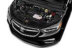Car Stock 2017 Buick Encore Premium 5 Door SUV Engine  high angle detail view