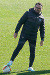 Getafe's coach Jose Bordalas during training session. February 19,2020.(ALTERPHOTOS/Acero)