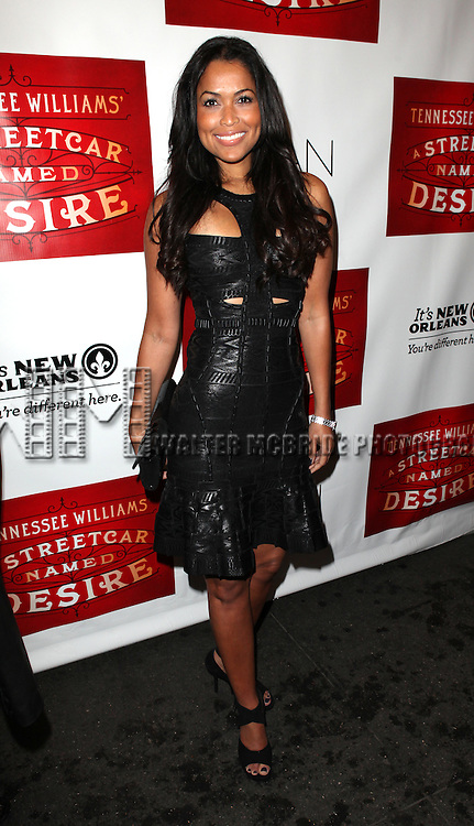 Tracey Edmonds.attending the Broadway Opening Night Performance of 'A Streetcar Named Desire' at the Broadhurst Theatre on 4/22/2012 in New York City.