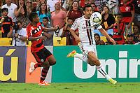 RIO DE JANEIRO, 11.05.2014 - Fred do Fluminense durante o jogo contra Flamengo pela quarta rodada do Campeonato Brasileiro disputado neste domingo no Maracanã. (Foto: Néstor J. Beremblum / Brazil Photo Press)