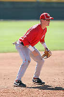 Alex Buchholz - Cincinnati Reds 2010 minor league spring training..Photo by:  Bill Mitchell/Four Seam Images.
