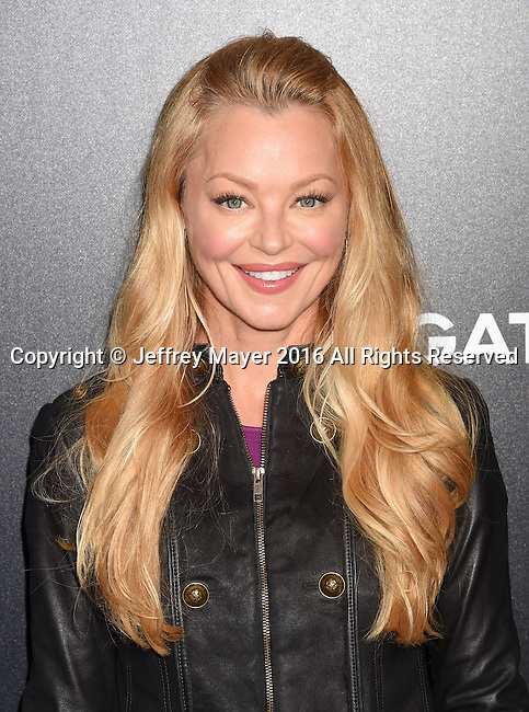 HOLLYWOOD, CA - OCTOBER 17: Actress Charlotte Ross attends the premiere of Lionsgate's 'Boo! A Madea Halloween' at the ArcLight Cinerama Dome on October 17, 2016 in Hollywood, California.